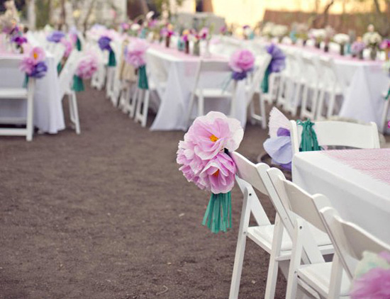 Paper Wedding Flowers03771 Wedding Flower Alternatives