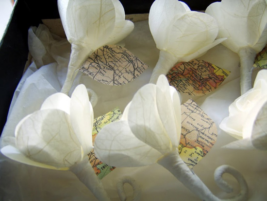 Paper Wedding Flowers03831 Wedding Flower Alternatives