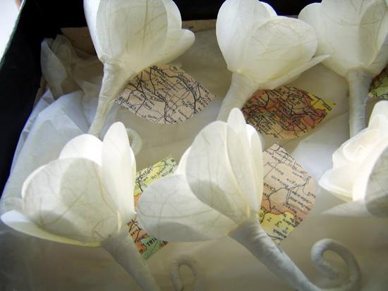 Paper Wedding Flowers03831 Wedding Flower Alternatives