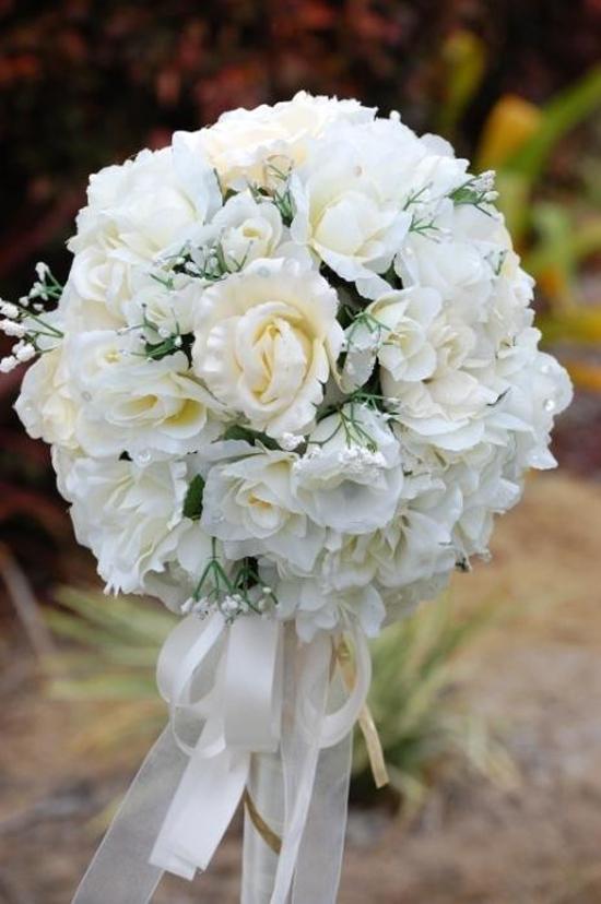 Paper Wedding Flowers0384 Wedding Flower Alternatives