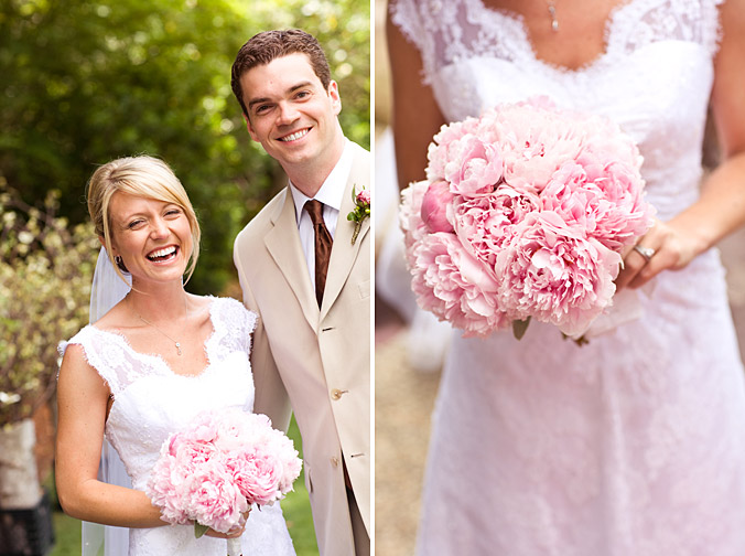 Peony Rose Wedding Bouquet 0138 Image Polka Dot Bride