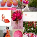 Shoe Crush - Orange and Pink