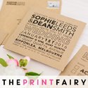 The Print Fairy Bride Banner