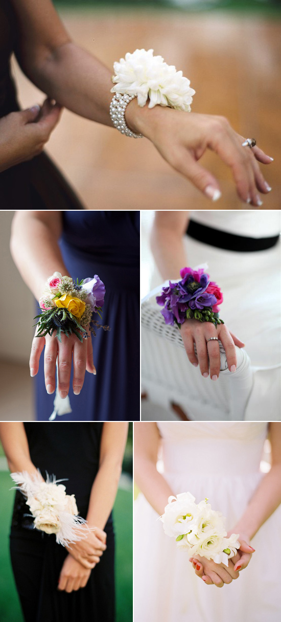 bridesmaid wrist corsage002 Bridesmaid Corsages
