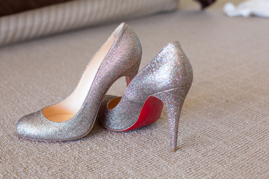christian louboutin00001 Amy and Scott's Sydney Country Club Wedding