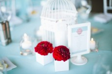 coloured table linens