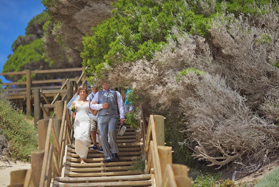 margaret river beach wedding014 Taryn & Daniels Margaret River Beach Wedding