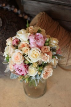 All things vintage the quintessential Flos Florum Bridal bouquet