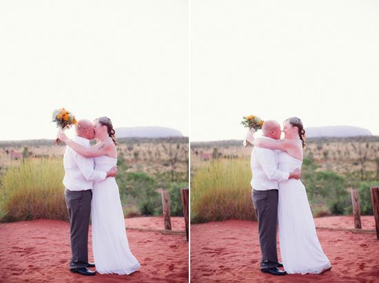 sunrise uluru wedding013 Charntelle and Michaels Sunrise Uluru Wedding