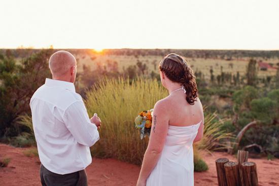 sunrise uluru wedding014 Charntelle and Michaels Sunrise Uluru Wedding
