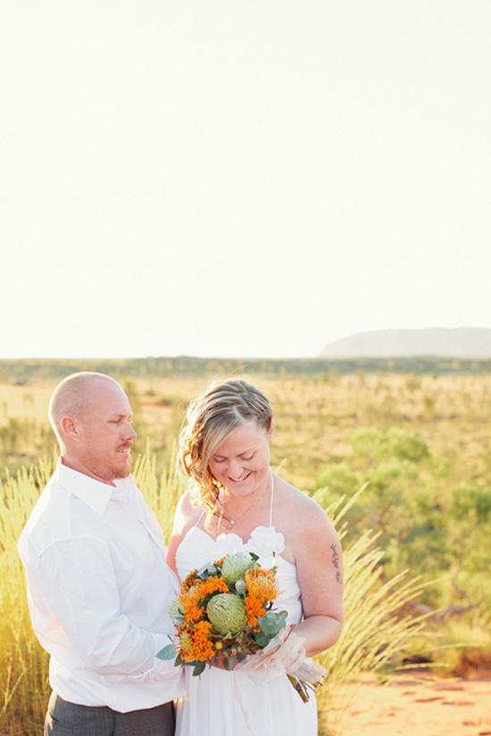 sunrise uluru wedding018 Charntelle and Michaels Sunrise Uluru Wedding