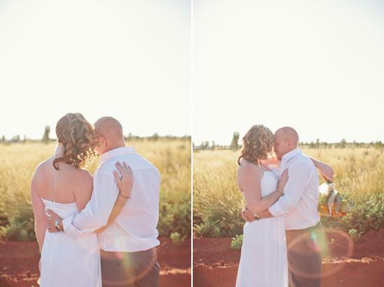 sunrise uluru wedding029 Charntelle and Michaels Sunrise Uluru Wedding