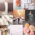 urban blush wedding inspiration