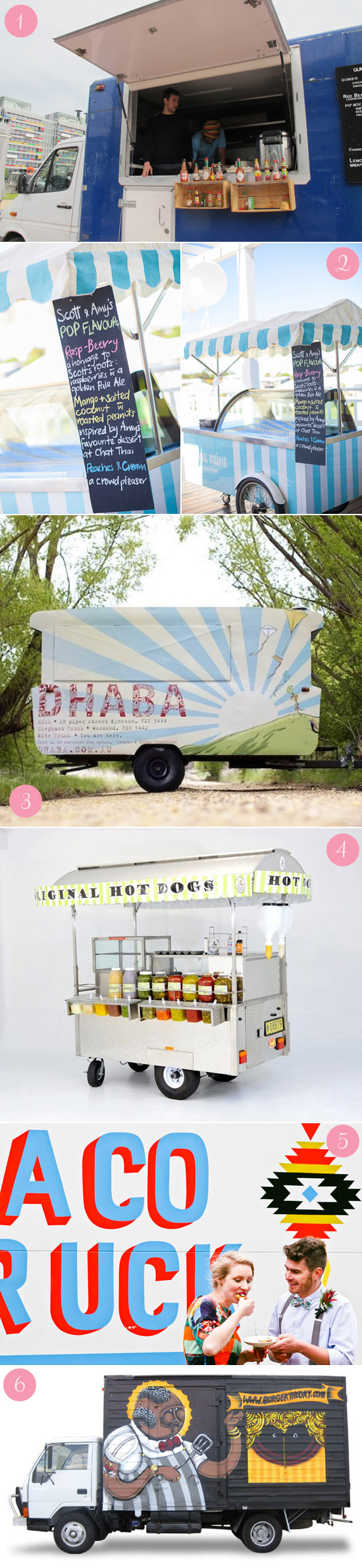 wedding food trucks and carts australia copy Carting it Around Delicious Wedding Food Carts & Trucks