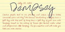 Dempsey - Webfont & Desktop font « MyFonts