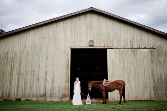 Rustic Bridal Portraits