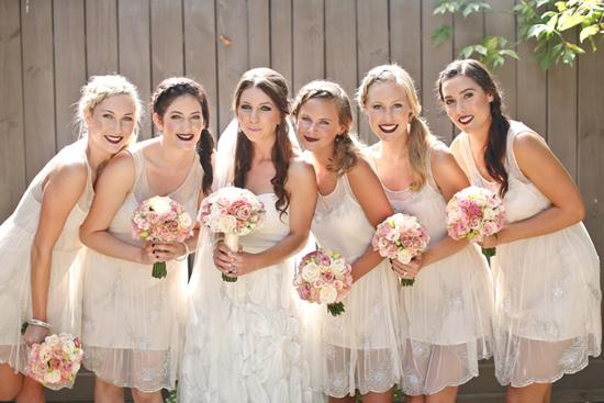 new zealand garden wedding004 Lauren & Bryns New Zealand Garden Wedding