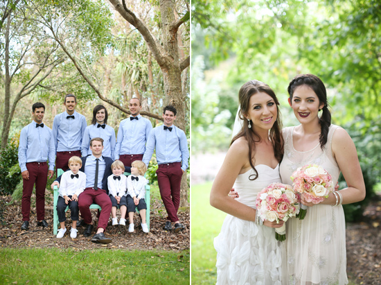 new zealand garden wedding006 Lauren & Bryns New Zealand Garden Wedding