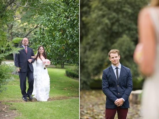 new zealand garden wedding007 Lauren & Bryns New Zealand Garden Wedding