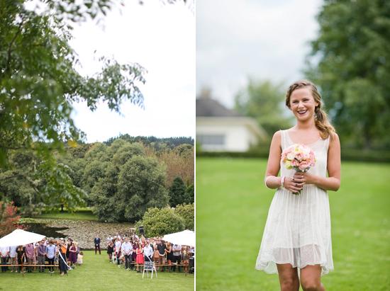 new zealand garden wedding008 Lauren & Bryns New Zealand Garden Wedding