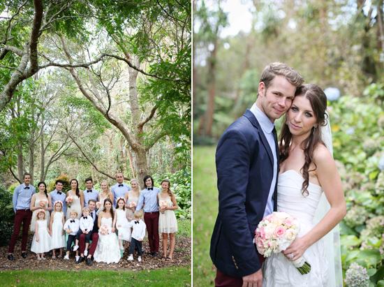 new zealand garden wedding011 Lauren & Bryns New Zealand Garden Wedding