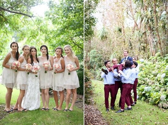 new zealand garden wedding018 Lauren & Bryns New Zealand Garden Wedding