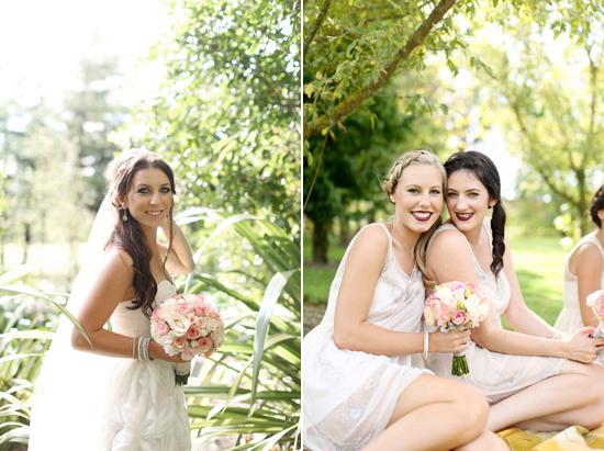 new zealand garden wedding025 Lauren & Bryns New Zealand Garden Wedding