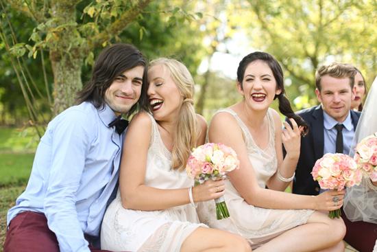 new zealand garden wedding026 Lauren & Bryns New Zealand Garden Wedding