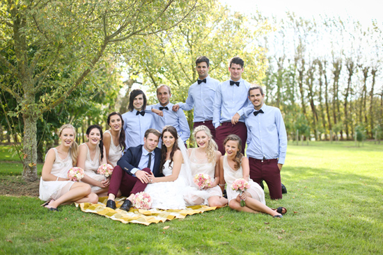 new zealand garden wedding027 Lauren & Bryns New Zealand Garden Wedding