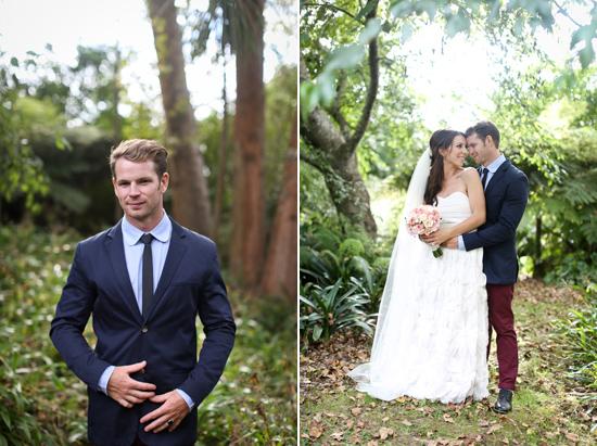 new zealand garden wedding029 Lauren & Bryns New Zealand Garden Wedding