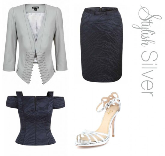 stylish modern mother of the bride outfits 550x520 Mother Of The Bride Looks From George Gross & Harry Who