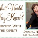 what would they know saundra hadley