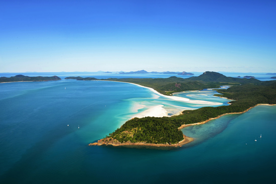 whistundays destination wedding location017 Water & The Wedding Dress On The Whitsunday Islands