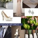 Art Deco Wedding Inspiration 125x125 Friday Roundup