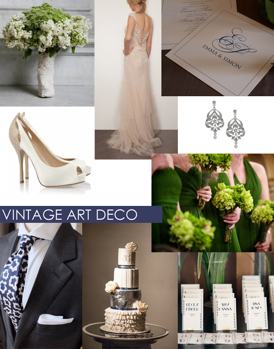 Art Deco Wedding Inspiration Shoe Crush Sunday Vintage Art Deco Style
