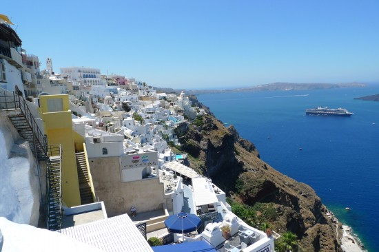 L1050191 550x366 Honeymoon In Greece, Italy, London and Thailand!