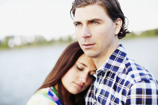 Polka Dot Rickard 550x366 A Swedish Engagement Shoot