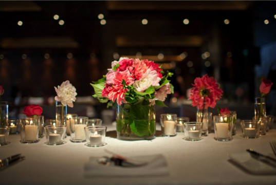 Wedding lighting table candles The Importance Of Good Reception Lighting
