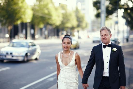 chic melbourne wedding0372 Wedding Day Pearls