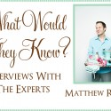 matthew robbins interview