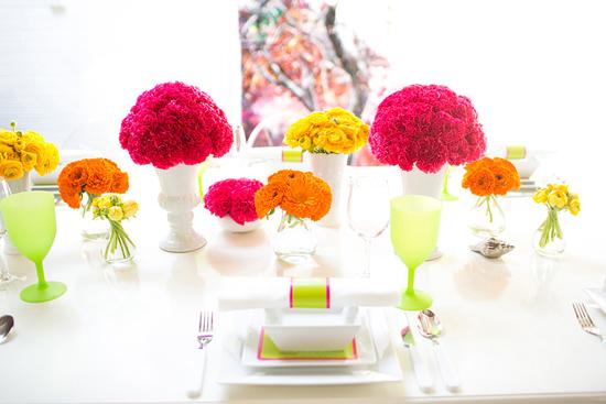 neon wedding inspiration001 Neon Wedding Inspiration