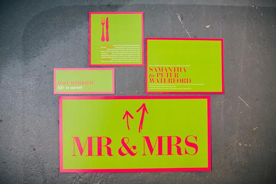 neon wedding inspiration003 Neon Wedding Inspiration