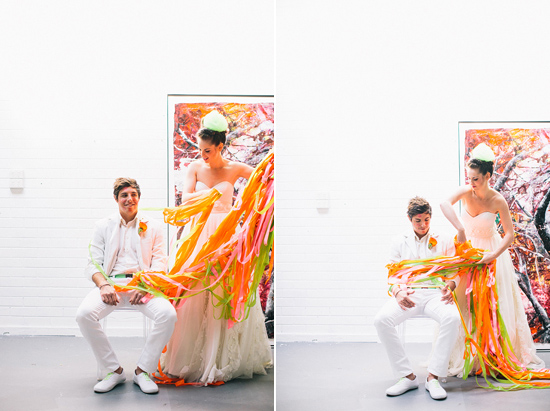 neon wedding inspiration012 Neon Wedding Inspiration