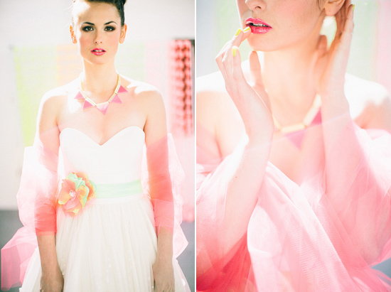 neon wedding inspiration013 Neon Wedding Inspiration