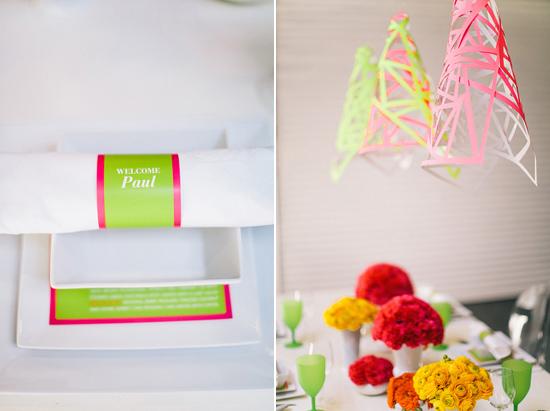 neon wedding inspiration014 Neon Wedding Inspiration