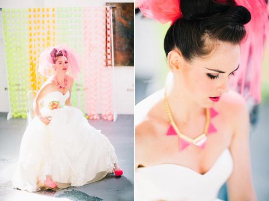 neon wedding inspiration017 Neon Wedding Inspiration