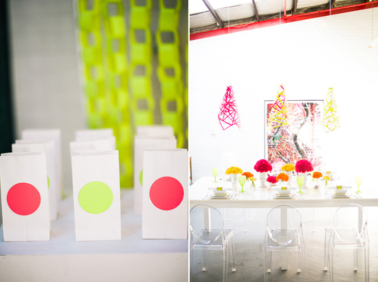 neon wedding inspiration019 Neon Wedding Inspiration