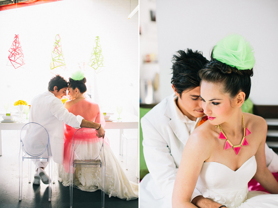 neon wedding inspiration027 Neon Wedding Inspiration