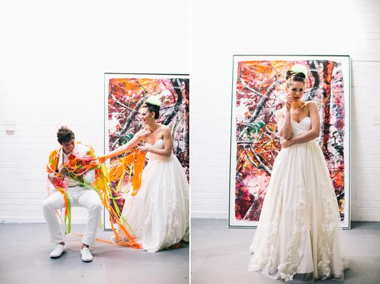neon wedding inspiration031 Neon Wedding Inspiration