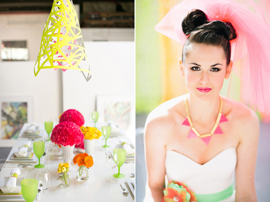 neon wedding inspiration033 Neon Wedding Inspiration